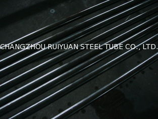 China DIN1629 Circular Seamless Mild Steel Tube , Oiling / Black Cold Drawn Steel Pipes supplier